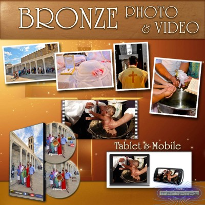 """BRONZE PHOTO & VIDEO"" βάπτισης"