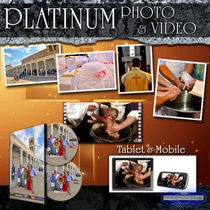 """PLATINUM PHOTO & VIDEO"" βάπτισης"