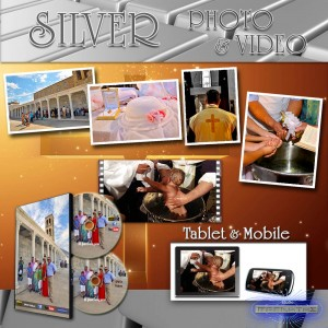 """SILVER PHOTO & VIDEO"" βάπτισης"